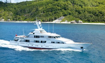 M/Y TELEOST available in the Caribbean over the holidays