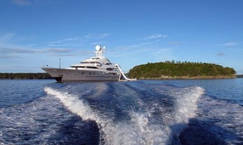 M/Y TV Open for Charters in the Mediterranean