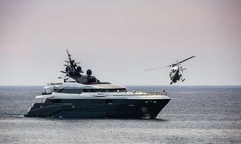 M/Y SARASTAR spotted filming 'Murder Mystery' in Monaco