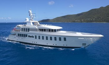 M/Y HARLE Open for Caribbean Christmas Charter