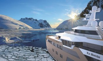 Groundbreakingexpedition yacht 'La Datcha', currently in build, to charter in 2021