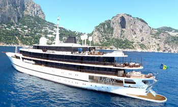 86m superyacht CHAKRA available for New Year's Eve yacht charter in the Red Sea