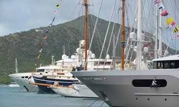 Final Preparations for Antigua Charter Show