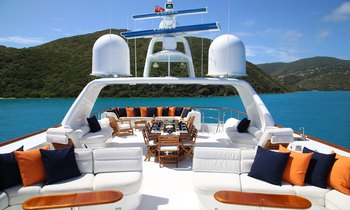 Bahamas yacht charter special: save with 40m superyacht M4