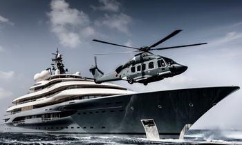 Take a peek inside Jay-Z and Beyoncé's €3 million luxury vacation aboard 136m FLYING FOX