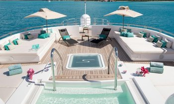 M/Y SIREN available to charter in the Caribbean