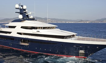 Rare last-minute availability and discount for 91.5m superyacht TRANQUILITY