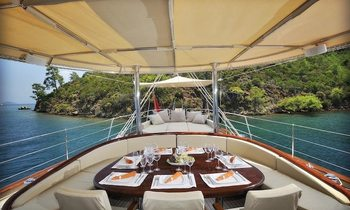 Sailing Yacht REGINA Reduces Rate for Caribbean Charters