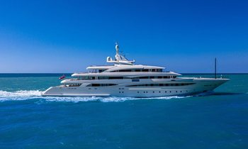 CRN 79m motor yacht MIMTEE available to charter for first time