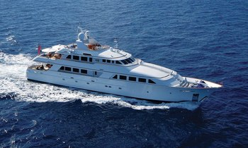Superyacht 'LADY J' has Charter Gap in St. Barts