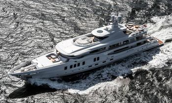 68m superyacht 'Aurora Borealis' delivered