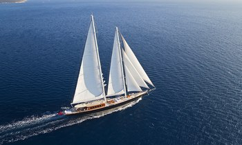 REGINA renamed S/Y 'Aria I' ahead of summer charter season