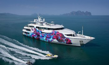 M/Y SALUZI reduces charter rate in South East Asia