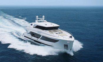 New motor yacht Aqua Life joins Caribbean charter fleet