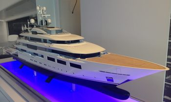90m Oceanco Y716 (Project Yasmin) spotted for first time