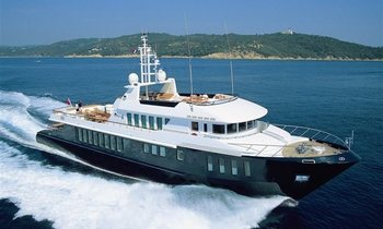 Superyacht CAPRICORN Offers Christmas in St. Barts