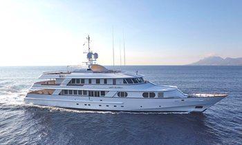 Greece charter deal: M/Y 'Lady Ellen II' offers special rate