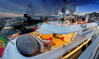 Baron Trenck Charter Brokers Party at Cannes Yacht Show
