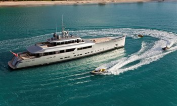 Superyacht EXUMA Available for Luxury Charters in the Seychelles