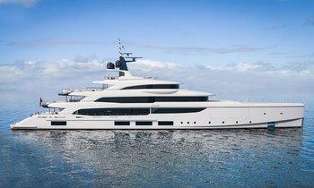 Brand new for charter: custom-designed 65m Benetti TRIUMPH joins fleet