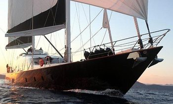 Sailing Superyacht Glorious Available for Charter in Turkey