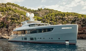 Be among the first to charter brand new M/Y CALYPSO