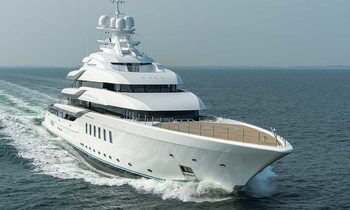 Owner takes delivery of Lurssen superyacht MADSUMMER