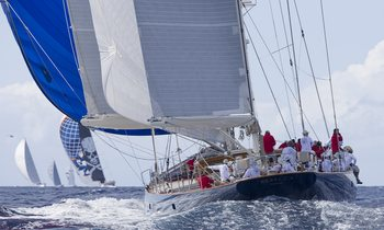Sailing yachts get ready for Superyacht Challenge Antigua