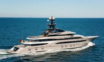 Lürssen line-up 3 2014 Superyacht Deliveries