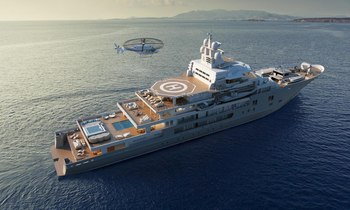 Is This The Largest Yacht to Ever Attend the MYS?