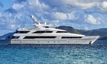 50m superyacht Victoria del Mar offers Mediterranean charter discount