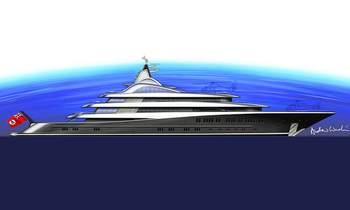 Lurssen M/Y TIS launches and we are surprised by how she looks...