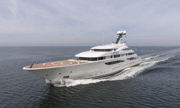 M/Y ARETI To Make Debut At Monaco Yacht Show