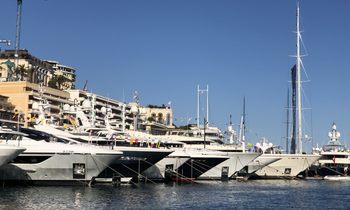 Live photos: Final preparations for the Monaco Yacht Show 2018