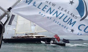 S/Y SILENCIO Wins on Millennium Cup Day One
