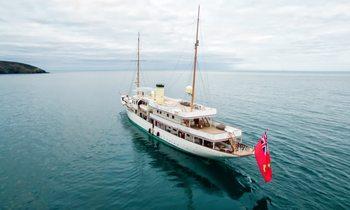 M/Y 'Haida 1929' returns to global charter fleet
