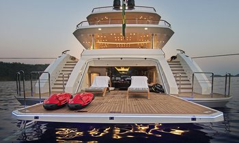 56m superyacht BABA'S joins the charter fleet