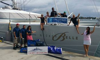 'Necker Belle' Yacht and YachtAid Global