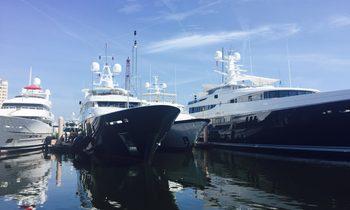 YachtCharterFleet Arrives At Palm Beach Show 2016