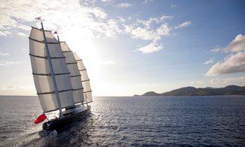 S/Y 'Maltese Falcon' Open In The Mediterranean