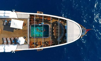 M/Y 'Christina O' available to charter at a reduced rate in the Mediterranean