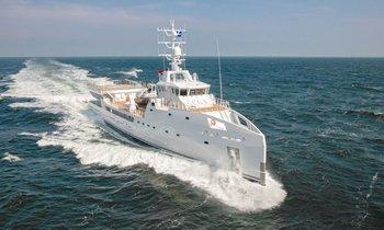 Damen M/Y 'Game Changer' Joins Charter Fleet