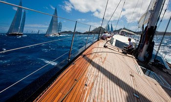 Charter Yachts Prepare for St Barths Bucket 2017