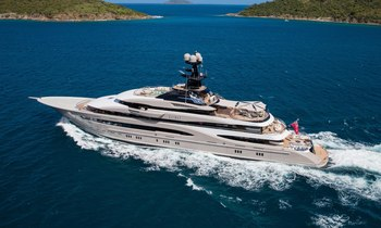 The 5 largest yachts by length at the Monaco Yacht Show 2018