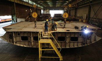 Abeking & Rasmussen lays keel for their largest ever project: 118m superyacht 6507