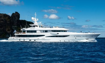 Superyacht DRIFTWOOD offers Costa Rica luxury charters