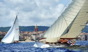 Yachts Gather for Les Voiles de Saint-Tropez 2017