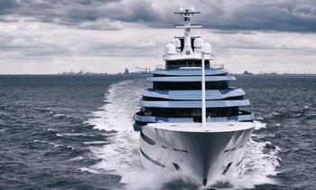 BREAKING: Oceanco's 110m superyacht JUBILEE renamed KAOS