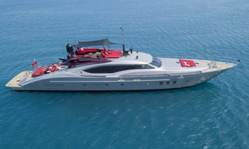 Last chance to charter 38m motor yacht KJOS in the Mediterranean