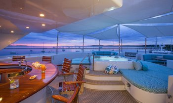 Superyacht RHINO is now a yacht for charter
